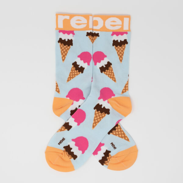 Rebel Fashion's Funky Ice Cream Socks